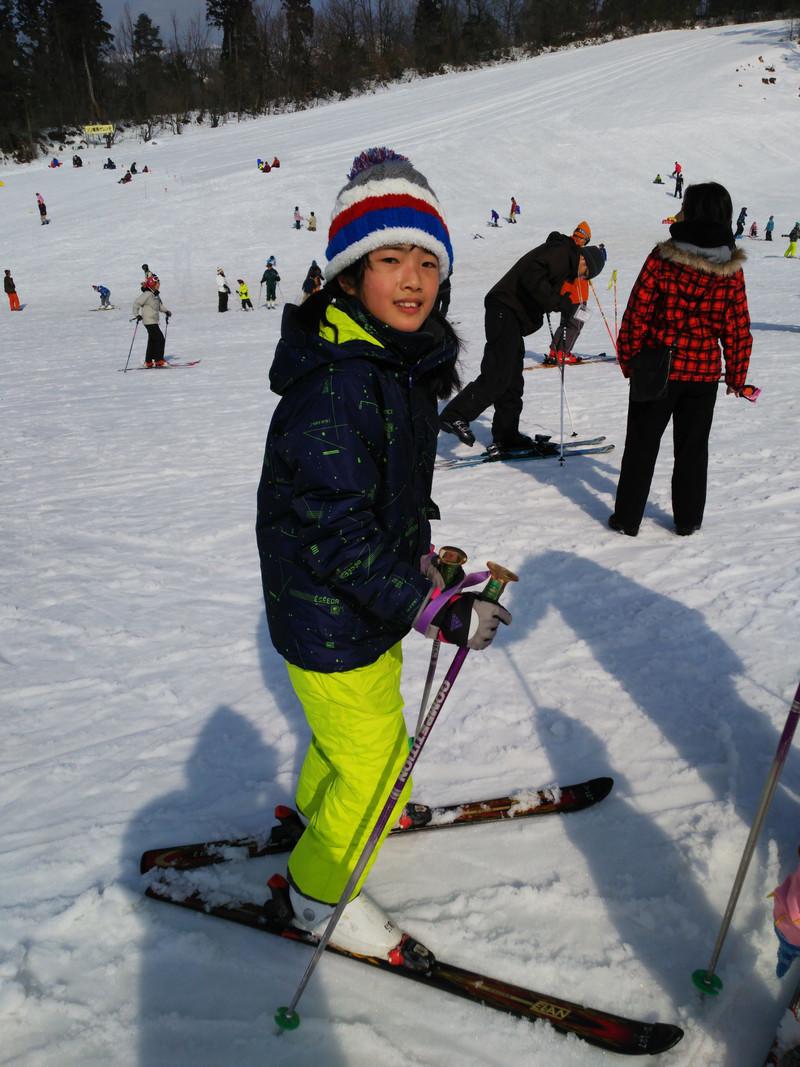 スキーへ!